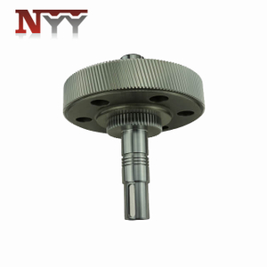 Marine impeller involute 17CrNiMo6 carburized tooth grinding gear shaft assembly