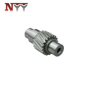 Plastic and rubber extruder high speed gearbox high accuracy tooth grinding pinion gear