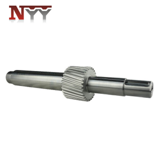 Metallurgy machinery soft tooth flank gear shaft