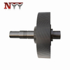 Marine impeller DIN class 6 high speed gear shaft assembly