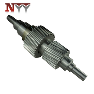 Metallurgy machinery soft tooth flank hot fit gear shaft