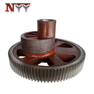 High precision forging machinery casting steel gear